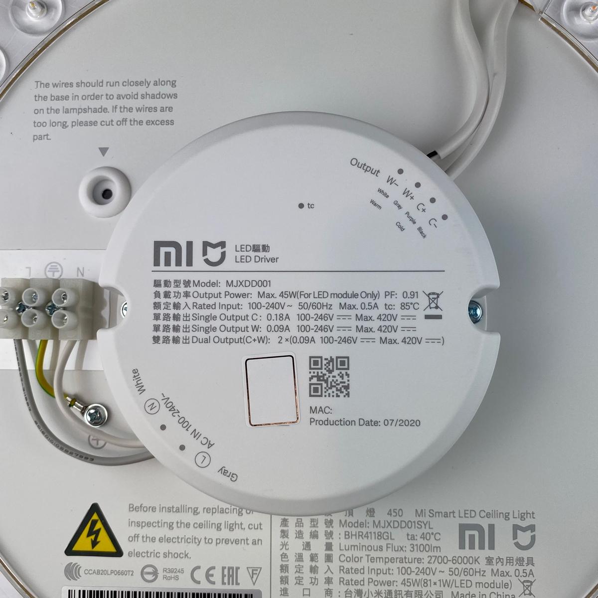 [评测]小米米家智能LED吸顶灯450插图9